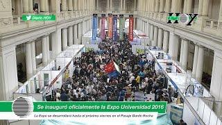 Se inauguró oficialmente la Expo Universidad 2016