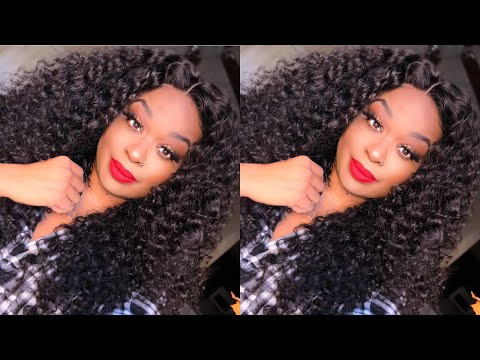 Does Jerry Curl hair get bone straight and hold a curl ?  Ft West Kiss Hair  Lace Front Wig