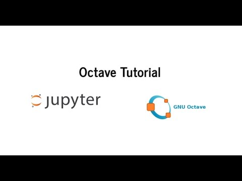 Octave Tutorial 01: Basic (in Jupyter Notebook)