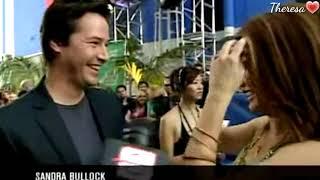 Keanu Reeves 💟 Sandra Bullock