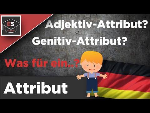 Attribut Grammatik - was ist das? Attribut - kein Satzglied? Attribut - einfach erklärt!