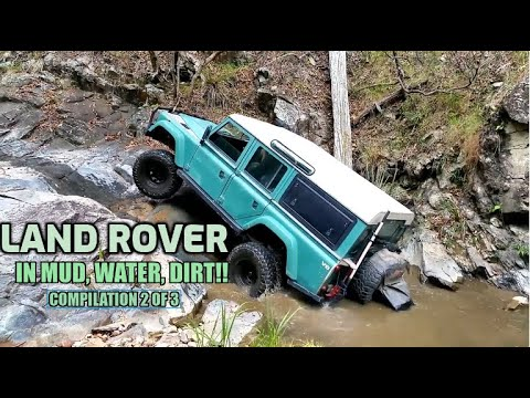 AMAZING LAND ROVERS IN VERY DIFFICULT OFF ROAD CONDITIONS! (Compilation part 2 of 3)