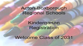 Kindergarten Night 2018