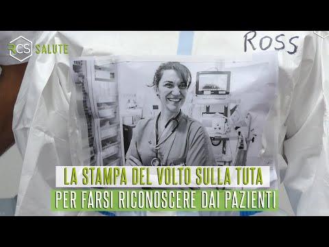 La stampa del volto per farsi riconoscere dai pazienti