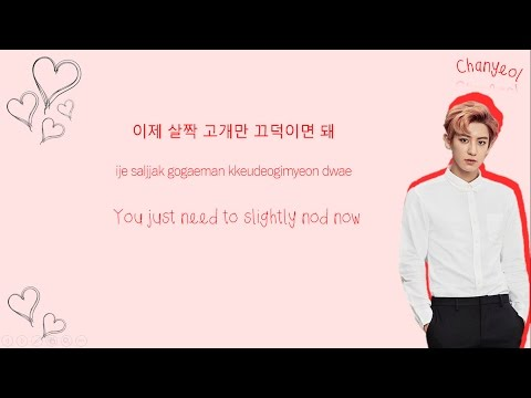 CHANYEOL 찬열 & JUNGGIGO 정기고 - Let Me Love You Color-Coded-Lyrics Han l Rom l Eng 가사 by xoxobuttons