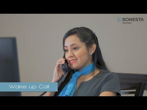 Sonesta Guayaquil Wake Up Call