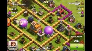 Clash of Clans- Lets Play #3 Nothing But HogRiders!