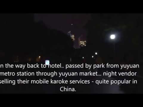 nanxiang xiao long bao and night karoke services on way back to hotel
