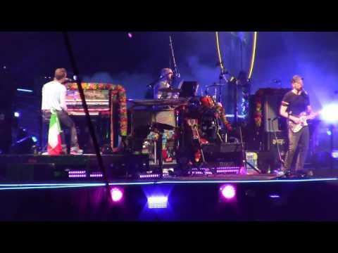 Coldplay Milano Up &Up
