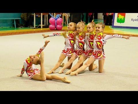 Художественная гимнастика.   Групповые упражнения