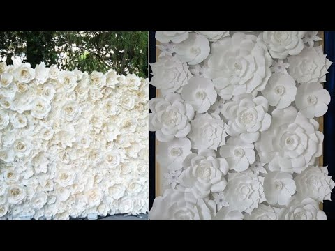 paper flower backdrop ideas for all occasions