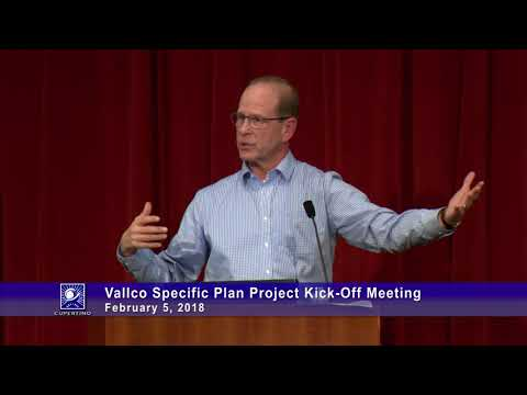 Vallco Specific Plan Project Kick-Off Meeting 2018