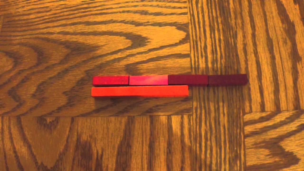 Multiplication & Division With Cuisenaire Rods
