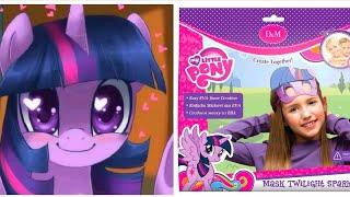 💖🎁👍Маска Искорка из My little pony 🏁🎉🎊на Новогодний утренник💜💕💖💝