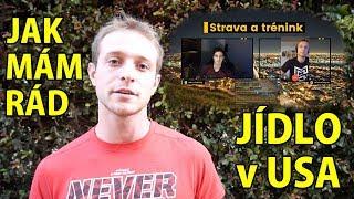 JÍDLO v USA | Výdělky Trenérů v Americe | Zápasení s Kronem | 1. VIDEOCAST
