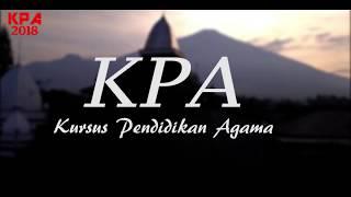 Kursus Pendidikan Agama (KPA) 2018 di Ds.Manislor - Kuningan