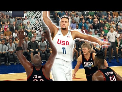 1992-team-usa-dream-team-vs-current-team-usa-|-nba-2k17-challenge