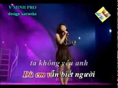 EM CHI LA BAN THAN - JENNY HAI YEN karaoke.avi