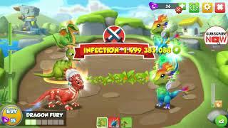 Dragon mania legends Boss Đảo Rồng Huyền Thoại ngày 725 part 1