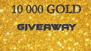 World of Tanks MAY GIVEAWAY - 10 000 GOLD. Ten winners will receive 1000 gold from me as gits