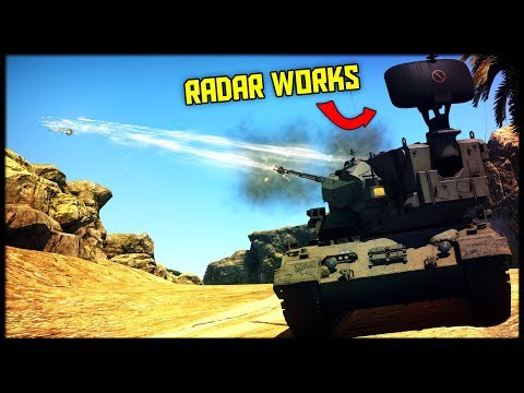 RADAR INFUSED COMBO || Leopard 2k & Gepard (War Thunder Gamplay)