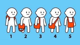 Носишь сумку или рюкзак? Узнай, что ТВОЯ СУМКА О ТЕБЕ РАССКАЖЕТ