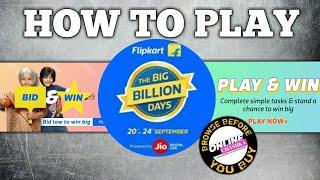 Flipkart Big Billion Days 2017   Flipkart Bid & Win   Flipkart Play & Win