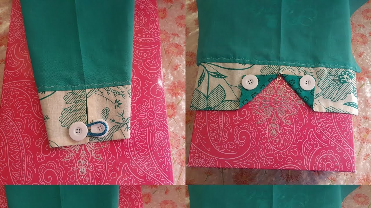 361f2ef2398e3 Two different types of sleeves design cutting and stitching - YouTube