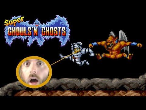 Extraordinarily Hard Games [#10] - Super Ghouls 'n Ghosts