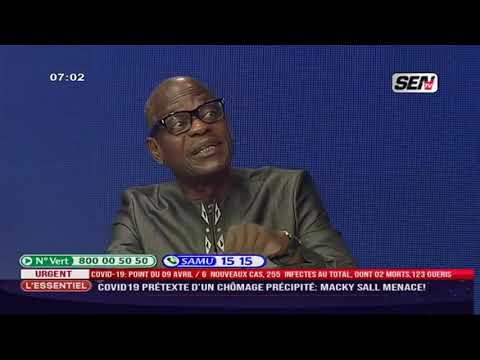 Coronavirus chômage technique  : - Cheikh Diop, Cnts/Fc  do