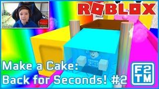 Roblox faça um bolo: volta por segundos! #2 (!!! DE AJUDA DOBRO)