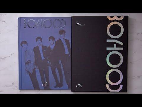 Unboxing | UNB Mini Album Vol. 1 - BOYHOOD + Limited Edition