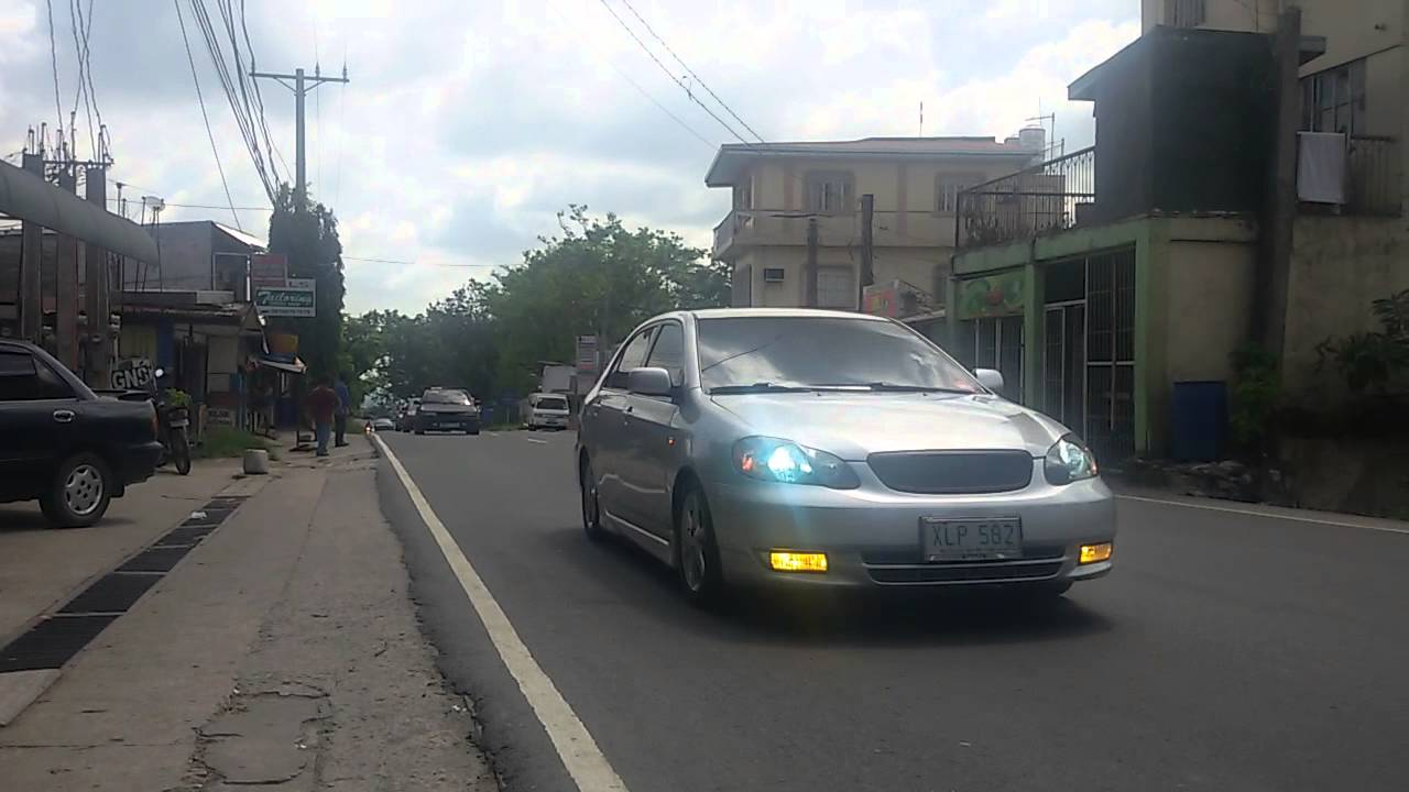 toyota corolla club philippines convoy3 - youtube