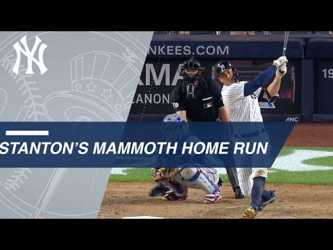 Giancarlo Stanton belts 449-ft. home run at 121.7 mph