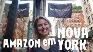Conhecendo a Loja da Amazon em Nova York