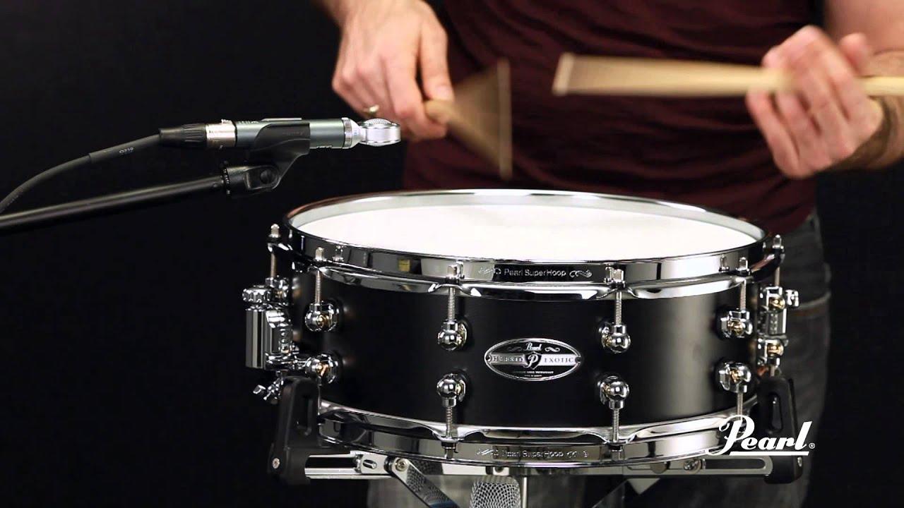 pearl 14x5 cast aluminum snare drum youtube. Black Bedroom Furniture Sets. Home Design Ideas