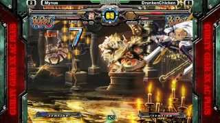 Guilty Gear XX Accent Core +R @ TSB 1/25 - Mynus (I-no) vs DrunkenChicken (Faust) GRAND FINALS