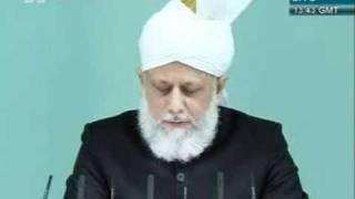 Shia Sunni or Adal wa Hakam khutba juma 2 12 2011 clip 7