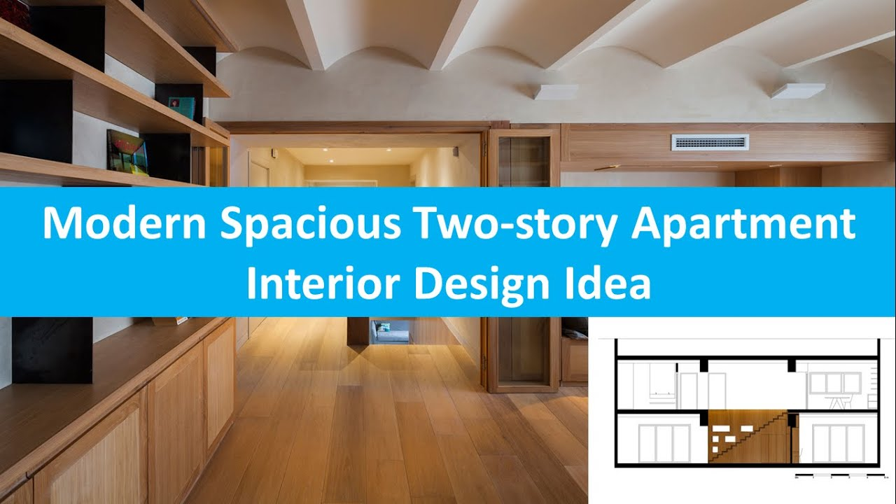 Modern Spacious Two story Apartment Interior Design Idea ...