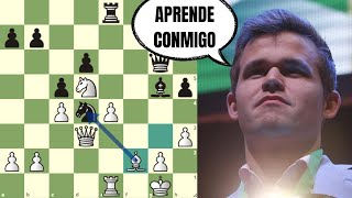 TÉCNICA AVANZADA EN AJEDREZ 🧐: Carlsen vs Bacrot (Copa del Mundo FIDE)