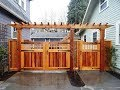 Magnificent Ideas of Wooden Gates