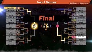 Super Smash Bros Ultimate Online Tourney 1v1 Terry Bogard!