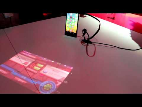 IFA 2015 | Lenovo Smartphone with Laser Projector