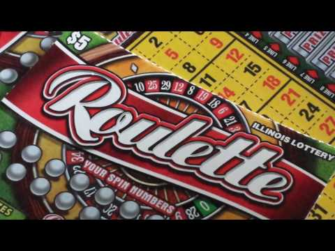 My First Win On The Il Lottery Roulette Scratch