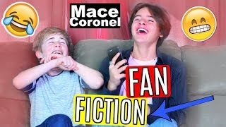 READING CRAZY FANFICTION WITH MACE CORONEL!!