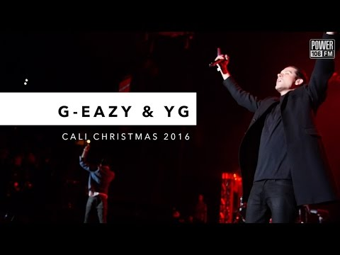 G-Eazy & YG Perform 'FDT' LIVE At Cali Christmas 2016