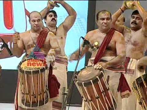 Mattanur Sankarankutty Marar Performing on Asianet News