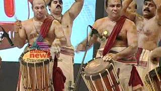 Mattanur Sankarankutty Marar Performing on Asianet News