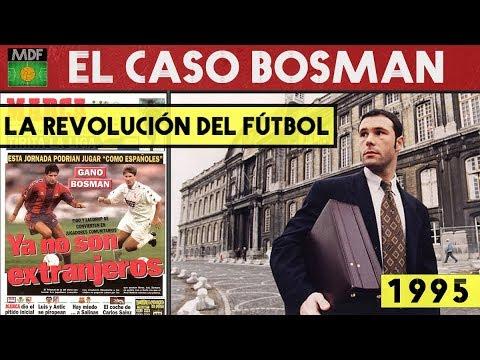Resultado de imagen para 1995 La sentencia Bosman