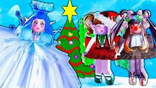 WINTER TRANSFORMATIONS IN ROYALE HIGH!💙❄ Royale High School Dress Up Challenge | Roblox Roleplay
